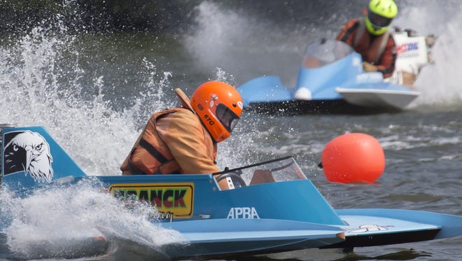 The APBA Badger State Outboard Association hosted the annual Shake the Lake power boat racing on Millers Bay at Menominee Park last year. This year's races are Sept. 3 and 4.