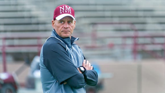 Doug Martin and New Mexico State will play an independent