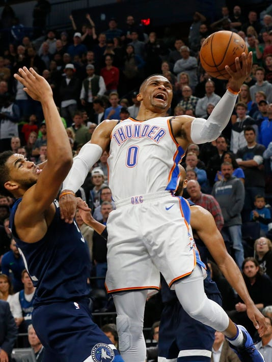 Karl-Anthony Towns, Russell Westbrook