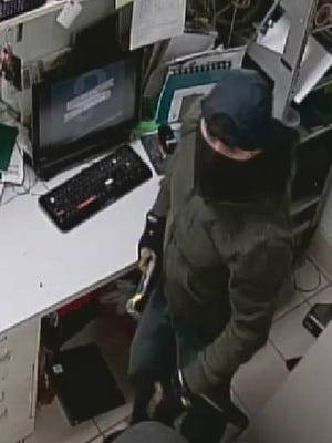 The Escambia County Sheriff's Office is searching for a suspect who is accused of breaking into two Starbucks stores.