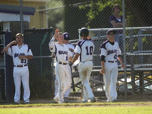 Photo by Andreas Fuhrmann Shasta High's baseball team can force a tie atop the Sac River League with a win over Red Bluff Friday.