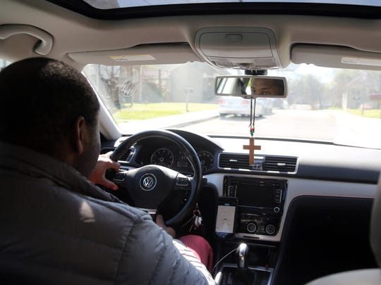 Michael Giles, who has owned a home in Hope Gardens for eight years, believes Uber and Lyft are encouraging development in the surrounding neighborhoods near Jefferson Street.