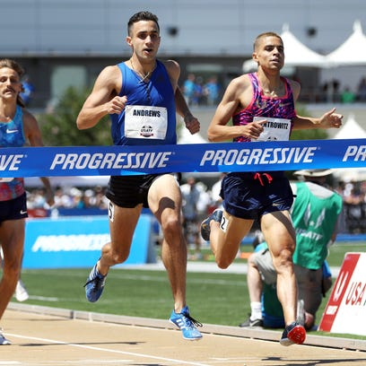 Robby Andrews upsets Olympic gold medalist Matt Centrowitz in 1,500 at U.S. championships