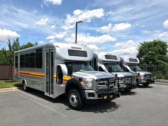 New BRITE buses