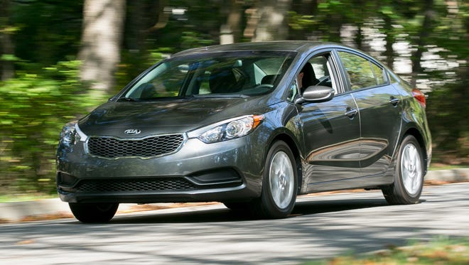 Judges top pick in the $20,000 Compact Car Challenge: The 2014 Kia Forte LX.