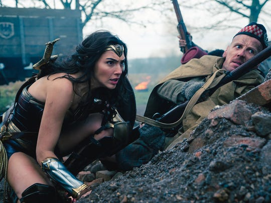 Diana Prince (Gal Gadot) takes to the World War I front