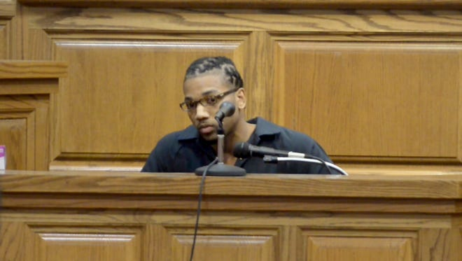 Craig Taylor gave a statement to the family of Devon Staten on Tuesday afternoon during his sentencing hearing. Taylor was sentenced to life with the possibility of parole in 51 years for the 2012 shooting death of Devon Staten.