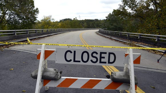 "The Blue Ridge Parkway is closed for most of the roadway in North Carolina, including the Asheville ""Commuter zone."""