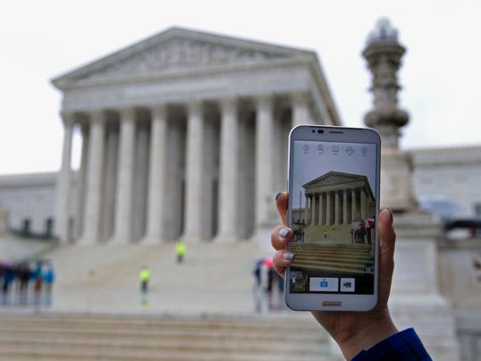 Your Say 0430 AP Supreme Court Cellphone Searches