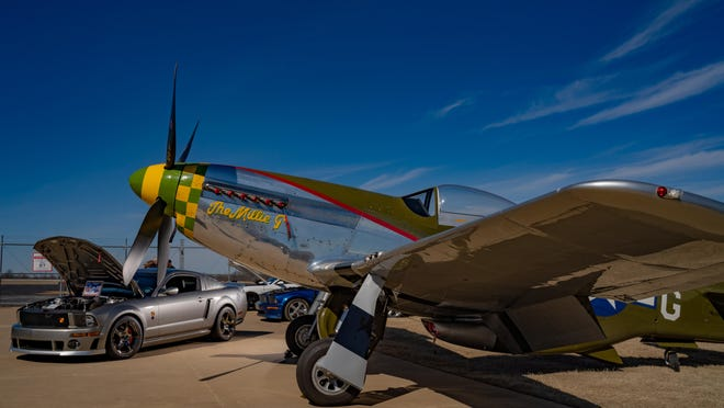 The second annual 'Stang Thang car show, with a planned appearance by a P-51 Mustang airplane, is scheduled July 11 at the Tulsa Air and Space Museum.