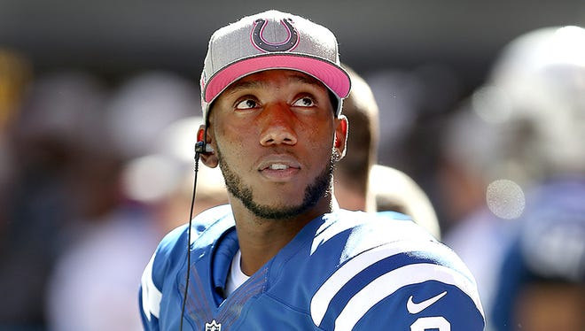Indianapolis Colts backup quarterback Josh Johnson was released Monday morning.