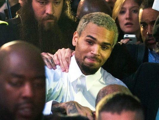 Chris Brown enters rehab facility