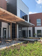 The Elevate Office Suites is the first project to open in a major redevelopment project along North Green Street in Brownsburg. The flexible-space office building is part of a nearly $90 million redevelopment project bringing new office, retail and apartments to Brownsburg.