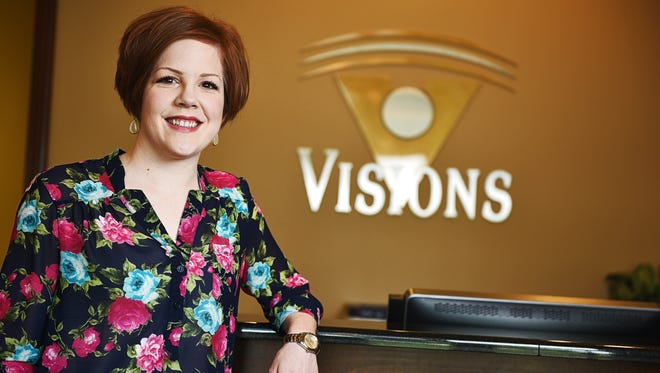 Dr. Ashley Gentrup is an optometrist at Visions Eye Care & Vision Therapy Center.
