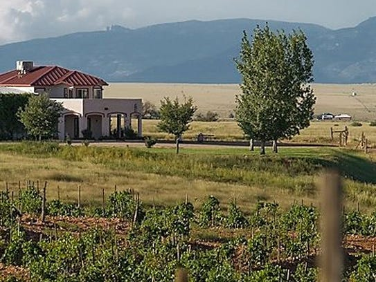 Sonoita Vineyards in the village of Elgin in southern