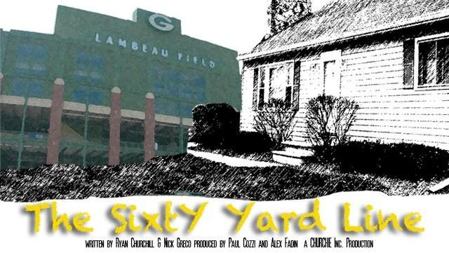 "Packers-themed romantic comedy ""The Sixty Yard Line"" tentatively plans to begin shooting late summer or fall at a house next to the Lambeau Field parking lot."