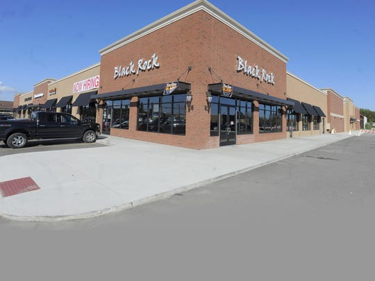 The site of a former Kmart in Woodhaven is being redeveloped. One new tenant is Black Rock Bar and Grill.
