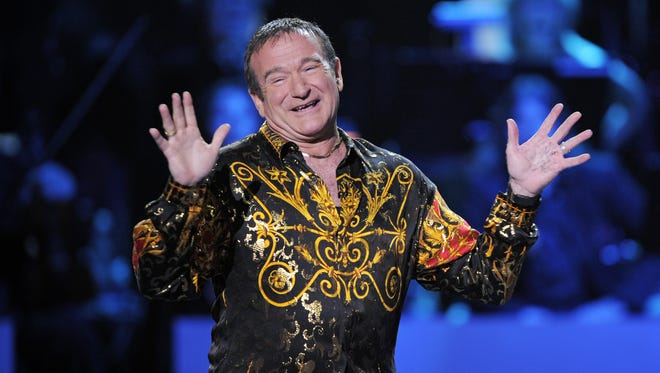 Robin Williams, whose free-form comedy and adept impressions dazzled audiences for decades, has died in an apparent suicide. He was 63. The Marin County Sheriff's Office said Williams was pronounced dead at his home in California on Monday, Aug. 11, 2014.