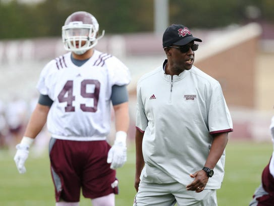 Mississippi State coach Brian Baker returned to the