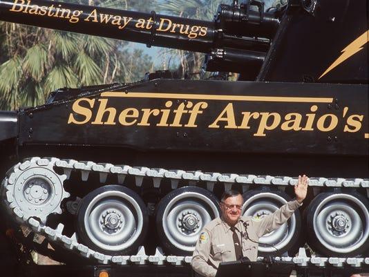 Sheriff Joe tank
