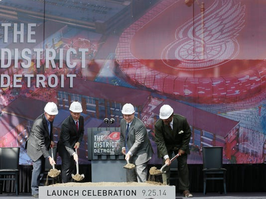 Red Wings New Home Hockey