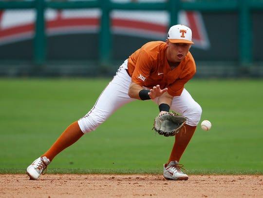 Texas infielder Kody Clemens, Big 12 player of the