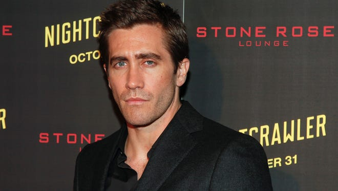 "In this Oct. 27, 2014, photo, actor Jake Gyllenhaal attends the New York premiere of ""Nightcrawler"" in New York."