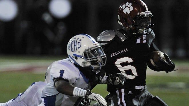 Asheville High senior Jalyn Folston will play college foootball for East Carolina.