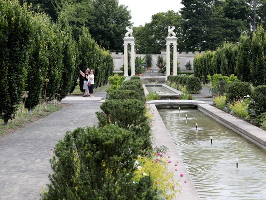 Untermyer Park and Gardens canals