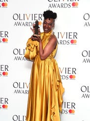 Noma Dumezweni, supporting actress winner for 'Harry