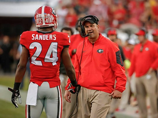 Jeremy Pruitt was Georgia's defensive coordinator before returning to Alabama to replace Kirby Smart when Smart took the job as head coach at Georgia.