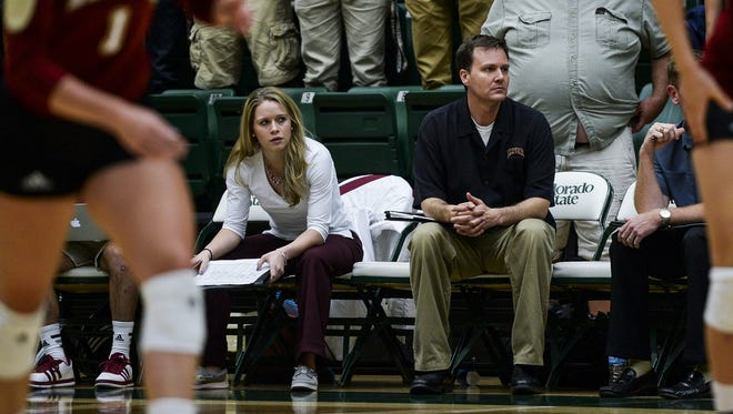 Former DU coach and CSU assistant Jesse Mahoney, right, has been hired to coach the University of Colorado.