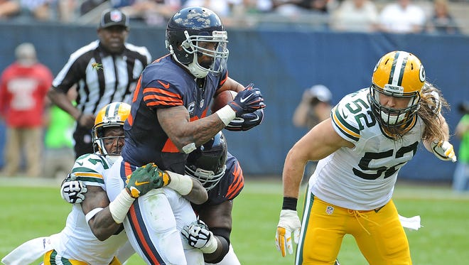Ticket demand is high for the Bears-Packers Thanksgiving Day game.