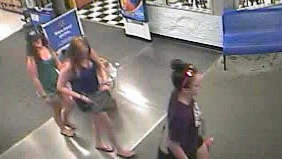 State police are looking for three women who may be connected to a vandalism incident at a park in Erwin.