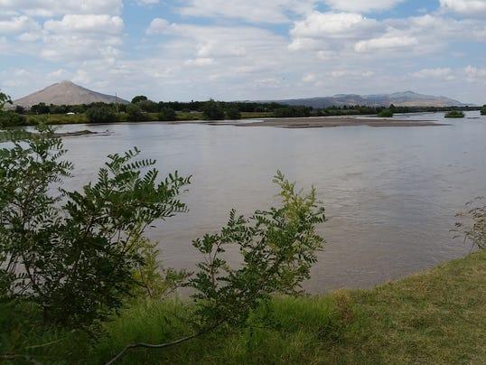 Rio Grande near Las Cruces