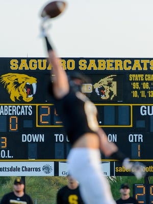 Saguaro High School in Scottsdsale has 11 players on its 2018 roster with college football scholarship offers.