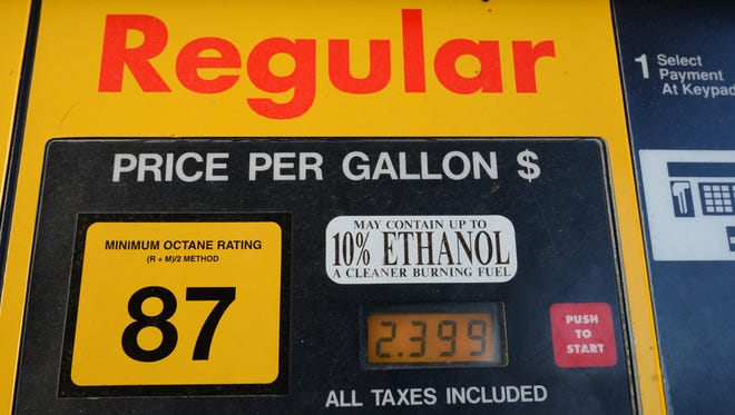 Gas prices are still 10 cents lower than where they were just before Christmas.