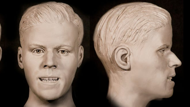 The Tom Green County Sheriff's Office on Monday, June 11, 2018 released photos of facial reconstruction performed to identify a man whose body was found nearly 31 years ago at the Twin Buttes Reservoir in the southwest part of Tom Green County.