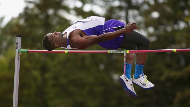 Green Bay Preble alum Robert Starnes, shown at the NCAA Division III outdoor track and field championships last year, won DIII indoor national championships in the long and high jump last week.