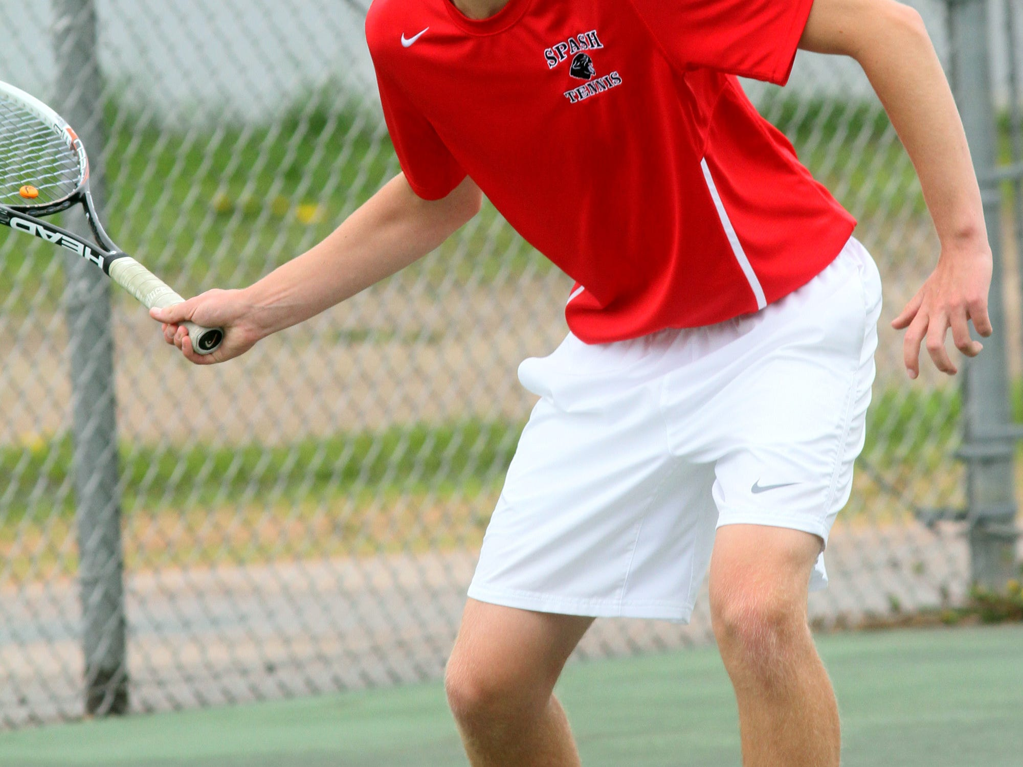 Senior Blaine Bancker has taken over the No. 1 singles spot in the Stevens Point Area Senior High tennis lineup and the Panthers have barely skipped a beat through an unbeaten Wisconsin Valley Conference dual meet season.