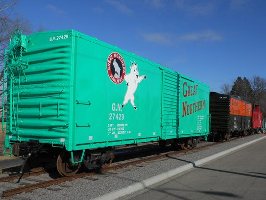 The 27429 boxcar was built at the Waite Park Great