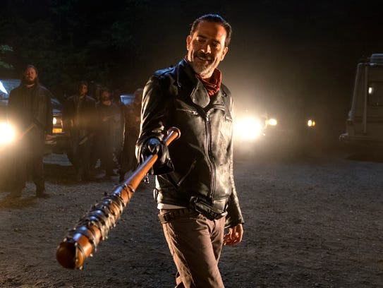 In this image released by AMC, Jeffrey Dean Morgan