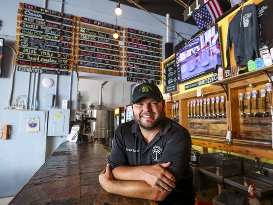 Will Lawson founded Naples Beach Brewery in December