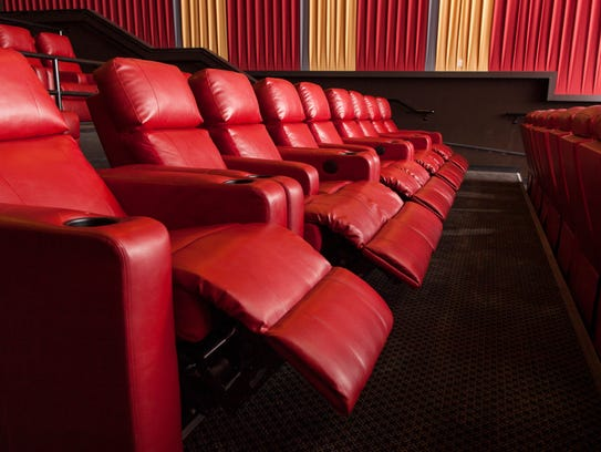 The new seating layout with DreamLounger recliners