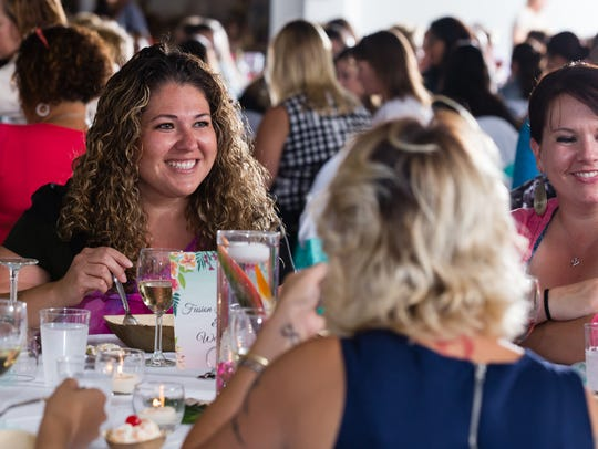 Guests at the 8th annual Healthy Woman banquet enjoyed