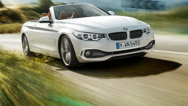 BMW 4 Series looks carefree as a convertible