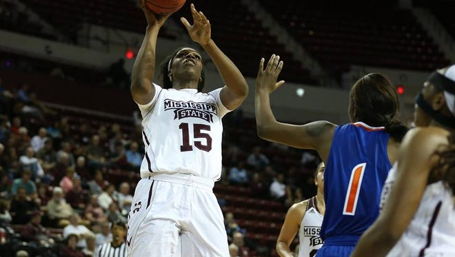 Mississippi State Teaira McCowan won SEC Freshman of the Week on Tuesday.