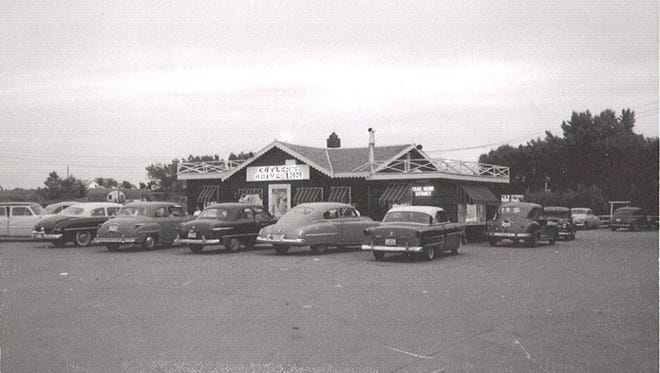 Cutler's Drive-Inn was open from 1948 to 1962.