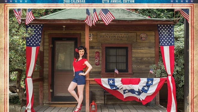 The 2018 Pin-Ups for Vets calendar. The group's welcome for an Oct. 10 visit to the Sioux Falls VA Health System was rescinded this week after local officials decided that the calendar's message clashed with the VA's goal of making the hospital a welcoming place for all its visitors.