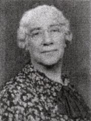 Florence Carr, the society editor for the old Johnson City Record newspaper.